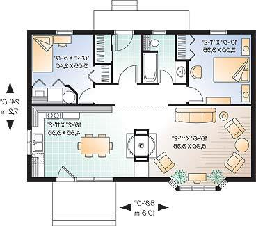 First level image of Featured House Plan: BHG - 4574