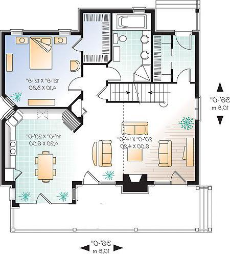 First level image of Featured House Plan: BHG - 1142