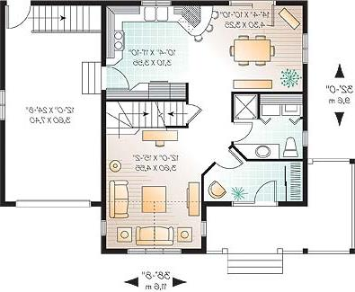 First level image of Featured House Plan: BHG - 3308