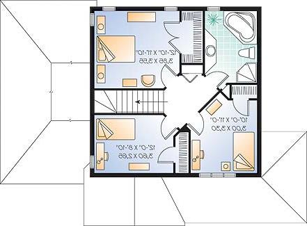 Second level image of Featured House Plan: BHG - 3308