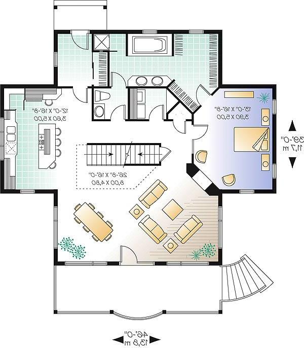 First level image of Featured House Plan: BHG - 1428