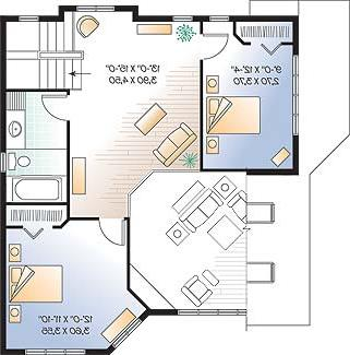 Second level image of Featured House Plan: BHG - 4651