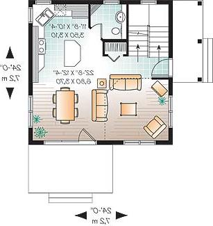 First level image of Featured House Plan: BHG - 4558