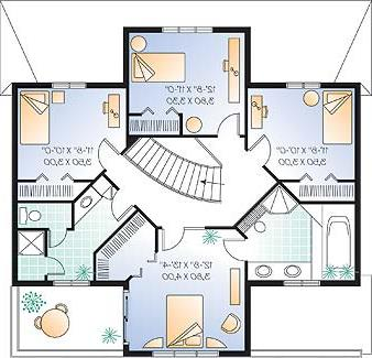 Second level image of Featured House Plan: BHG - 3266