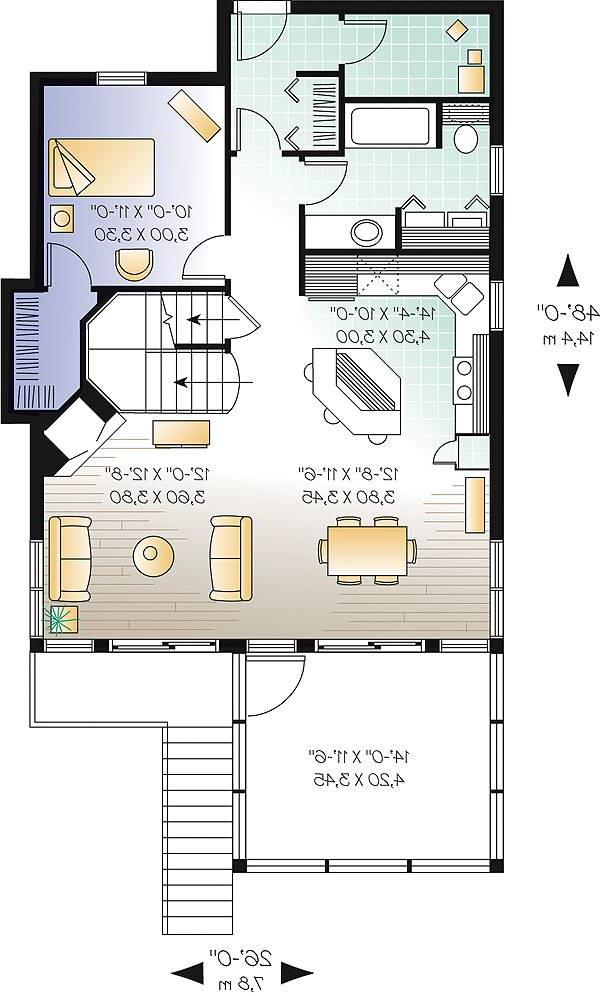 First level image of Featured House Plan: BHG - 1164