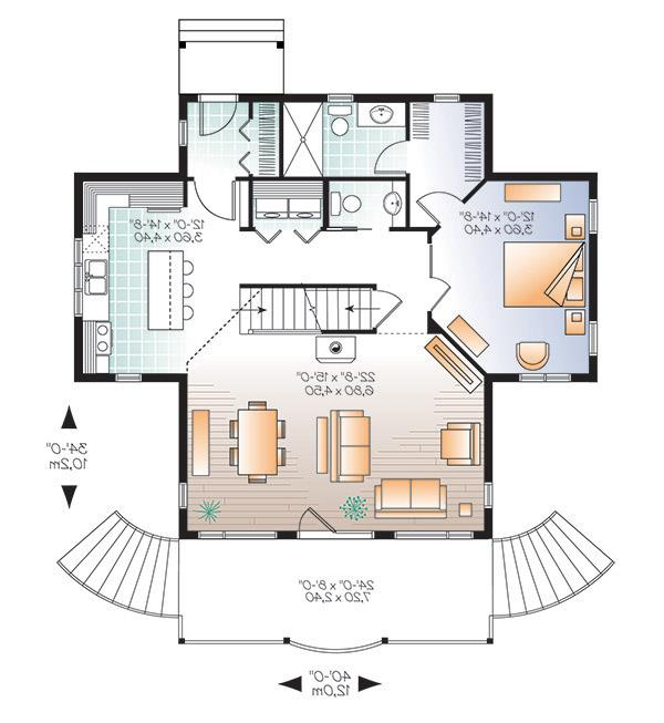 First level image of Featured House Plan: BHG - 4769