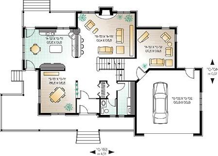 First level image of Featured House Plan: BHG - 4670