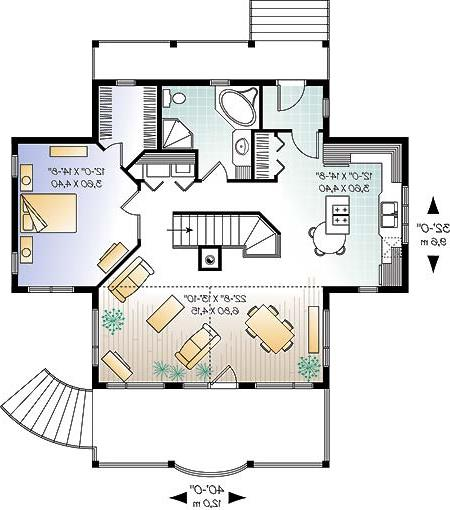 First level image of Featured House Plan: BHG - 4945