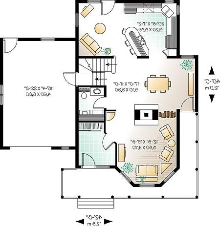 First level image of Featured House Plan: BHG - 4631