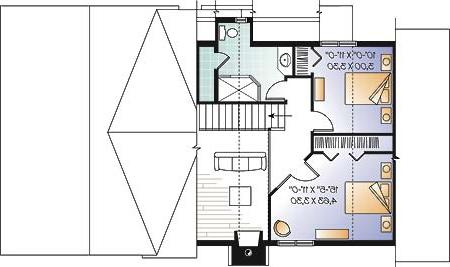 Second level image of Featured House Plan: BHG - 4751