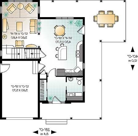 First level image of Featured House Plan: BHG - 4576