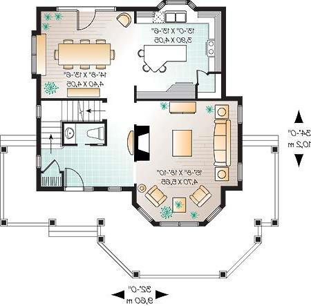 First level image of Featured House Plan: BHG - 4669