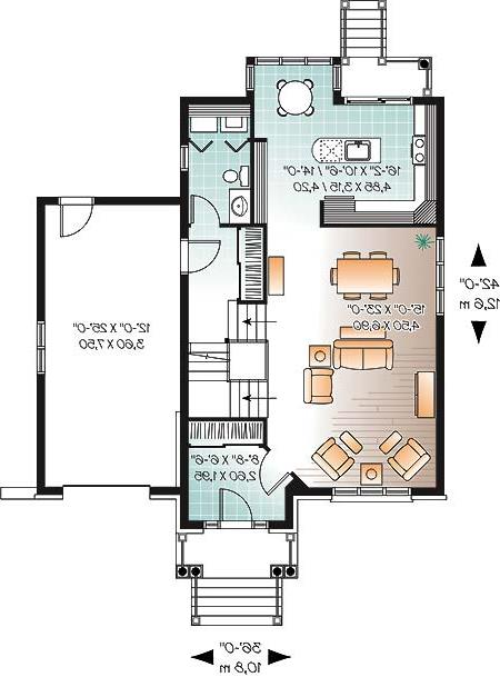 First level image of Featured House Plan: BHG - 4756