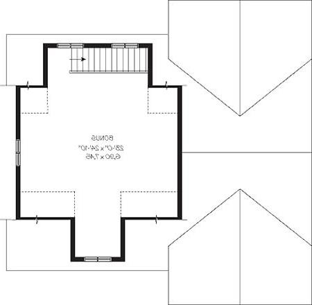 Second level image of Featured House Plan: BHG - 4681