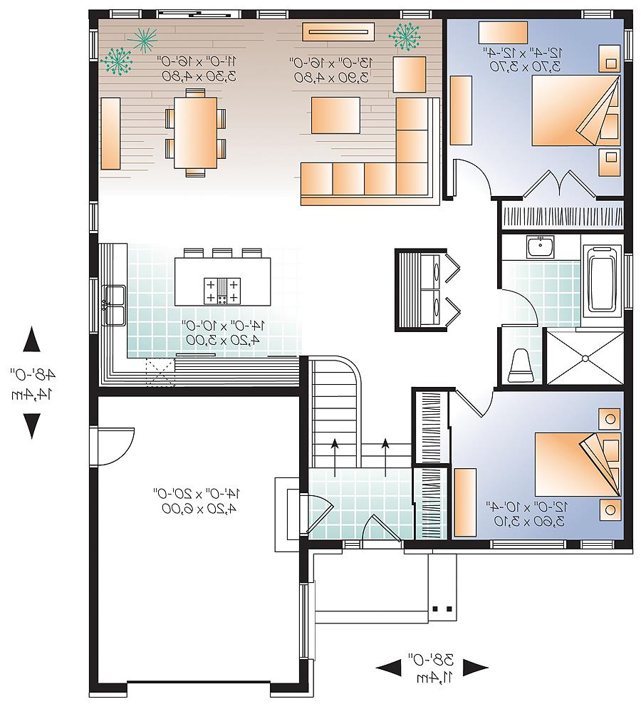 First level image of Featured House Plan: BHG - 4763