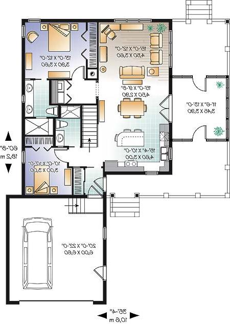 First level image of Featured House Plan: BHG - 4570