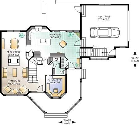 First level image of Featured House Plan: BHG - 4573
