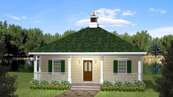 The Fairview Cottage House Plan