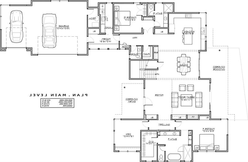 1st Floor Plan image of Featured House Plan: BHG - 1941
