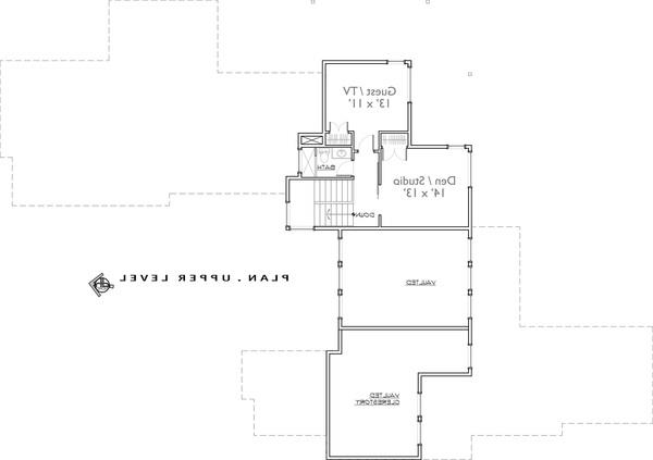 2nd Floor image of Featured House Plan: BHG - 9044