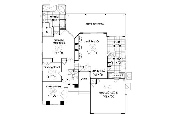Floor Plan image of Featured House Plan: BHG - 4718