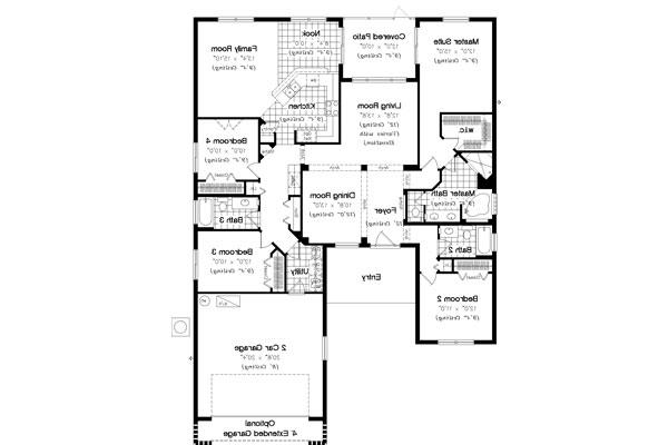 Floor Plan image of Featured House Plan: BHG - 4909