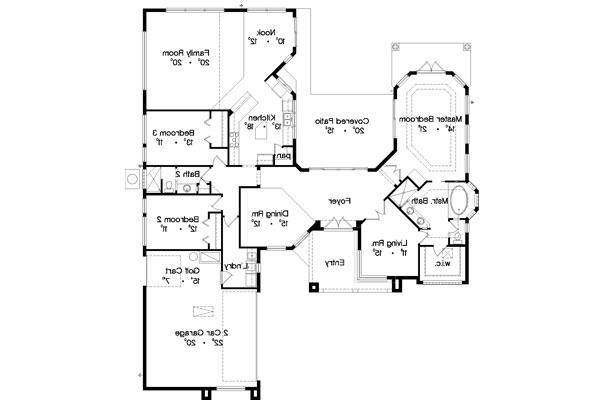 Floor Plan image of Featured House Plan: BHG - 4943
