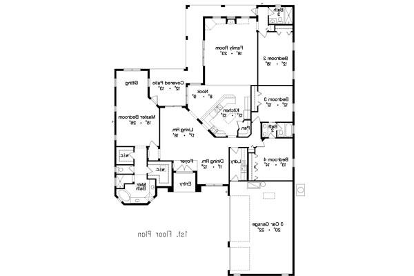 Floor Plan image of Featured House Plan: BHG - 4942
