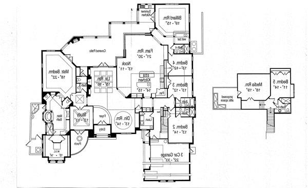 Floor Plan image of Featured House Plan: BHG - 7126