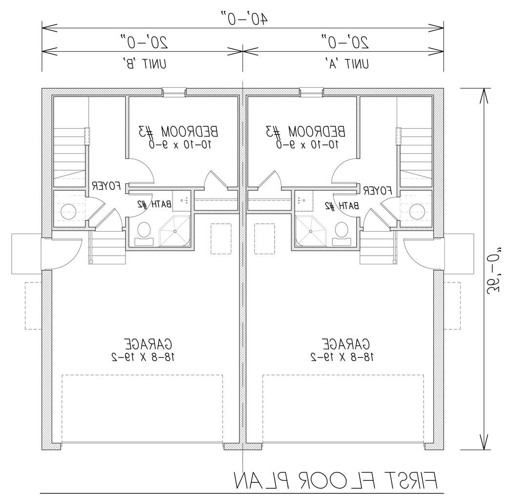 1st Floor Plan image of Featured House Plan: BHG - 9171