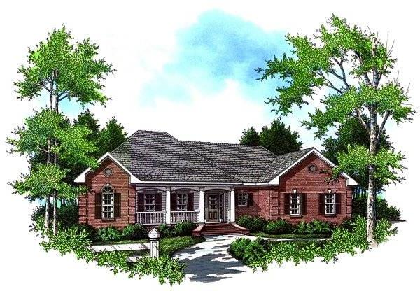The Cedarbrook House Plan