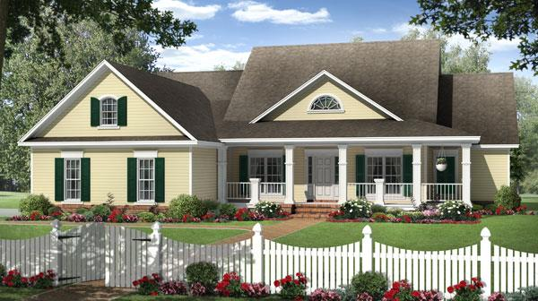The Chestnut Lane House Plan