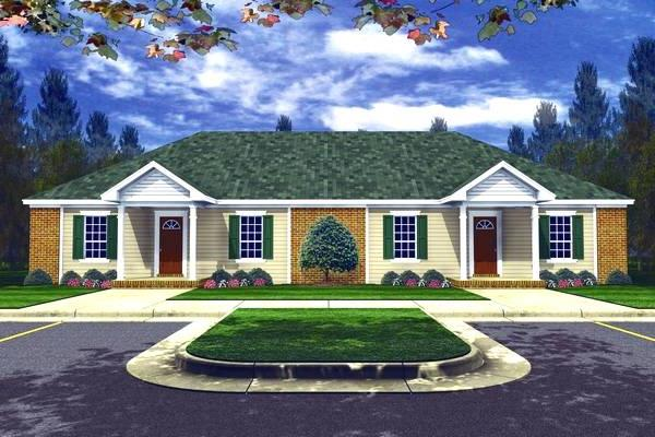 The Duplex House Plan
