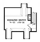 Second Floor Plan image of Featured House Plan: BHG - 3844
