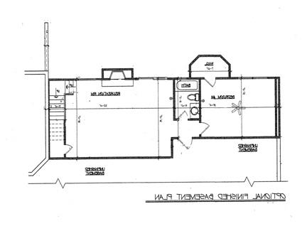Optional Walk-out Basement Plan image of Featured House Plan: BHG - 1875