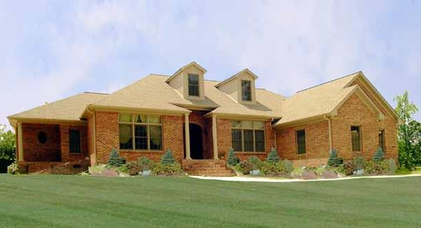 Front Photo image of Featured House Plan: BHG - 2809