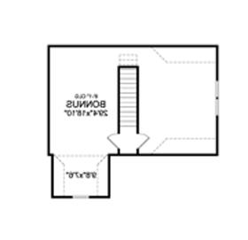 Second Floor Plan image of Featured House Plan: BHG - 4422