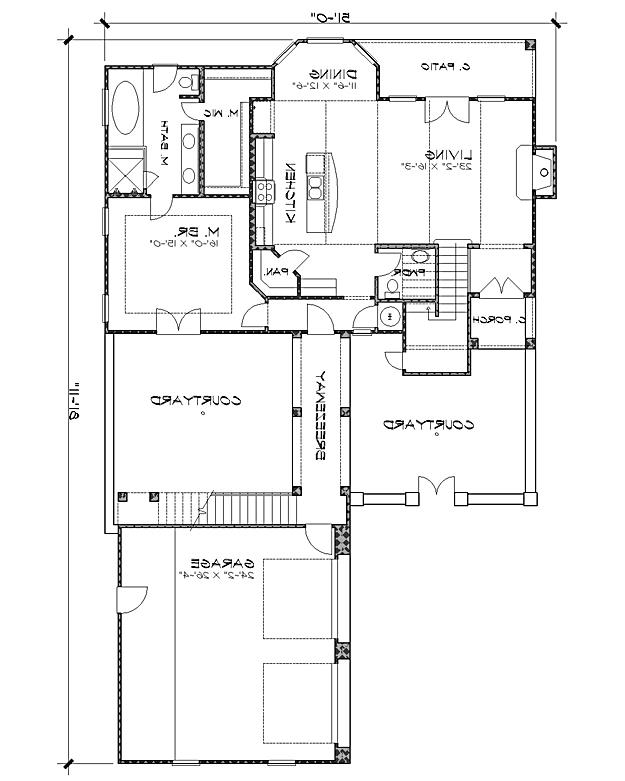 Floor Plan image of Featured House Plan: BHG - 4238
