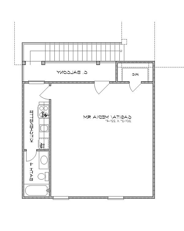 2nd floor image of Featured House Plan: BHG - 4238