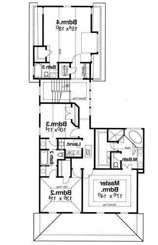 Second Floor image of Featured House Plan: BHG - 5831