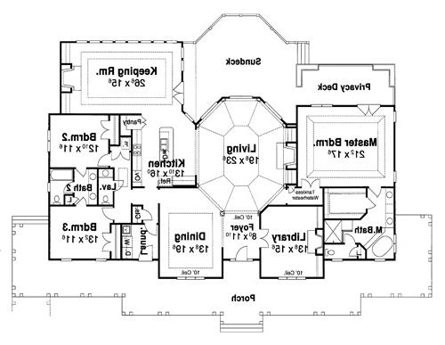 Floor Plan image of Featured House Plan: BHG - 7661