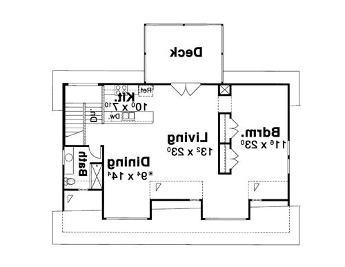 Garage Apt. image of Featured House Plan: BHG - 8306