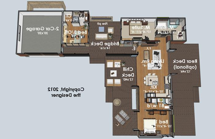 Floor Plan image of Featured House Plan: BHG - 4382