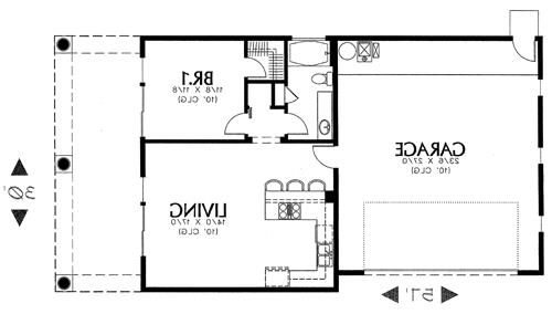 floor plan image of Featured House Plan: BHG - 1634