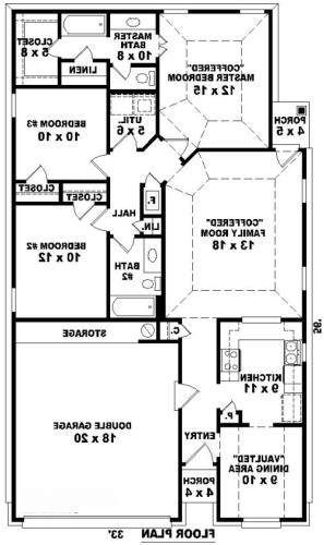 1st Level image of Featured House Plan: BHG - 8117