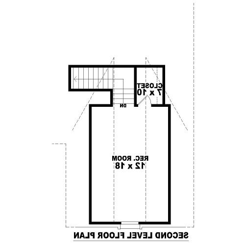 2nd Level image of Featured House Plan: BHG - 8118