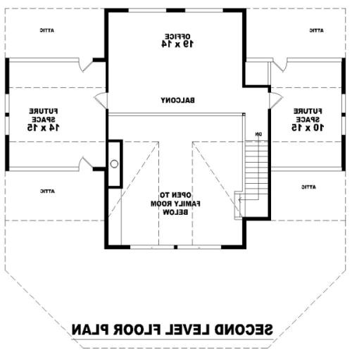 2nd Level image of Featured House Plan: BHG - 8490