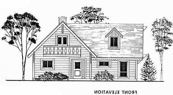 Front Elevation image of Featured House Plan: BHG - 3772